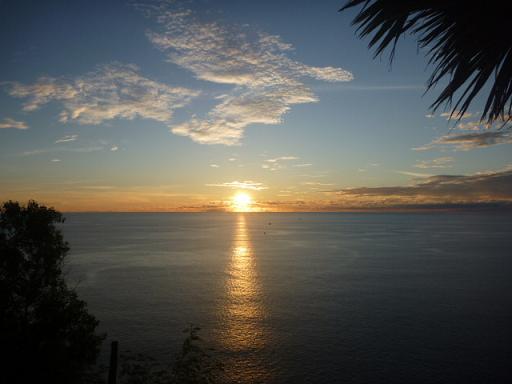 プロンテープ岬の夕陽.JPG